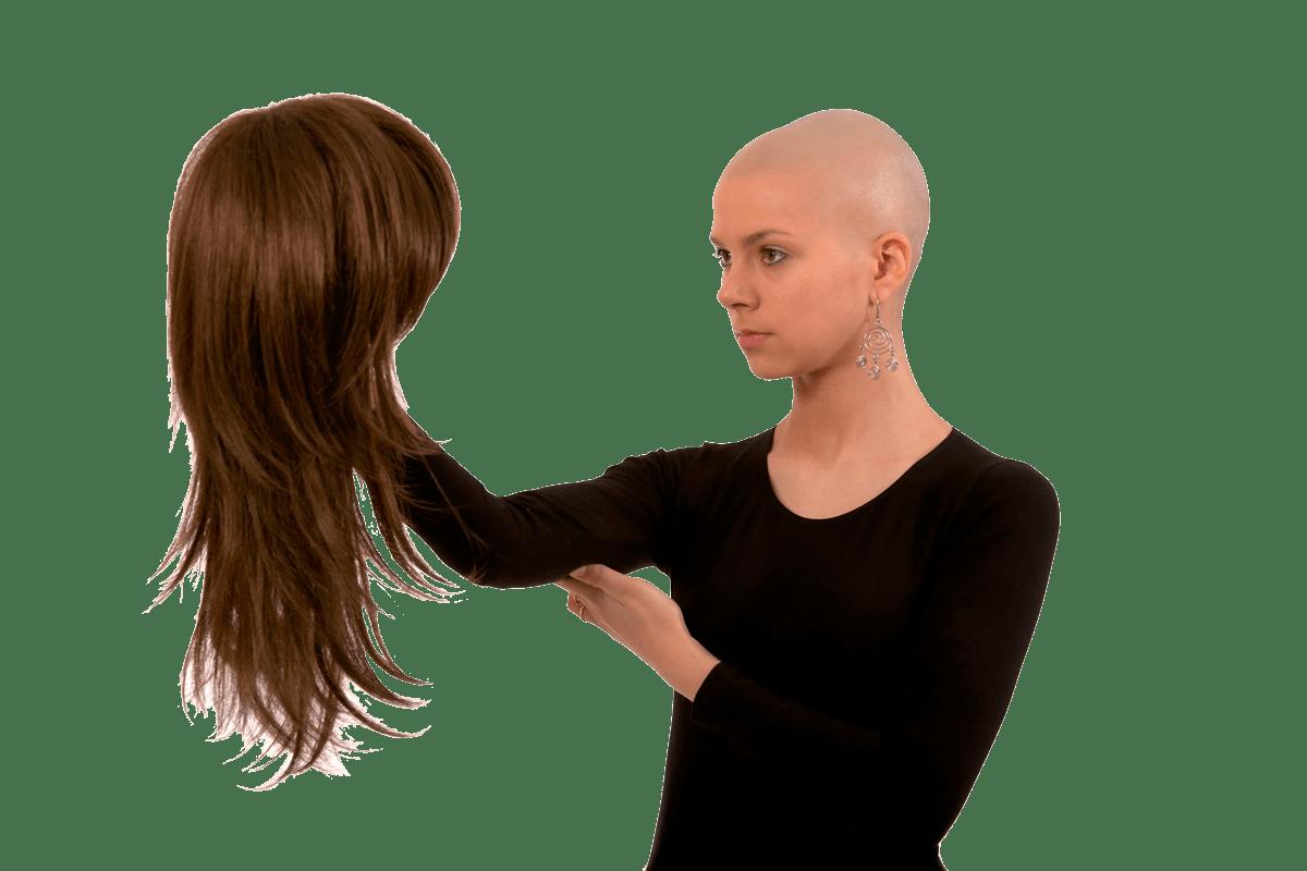 Onkologie-Perücke