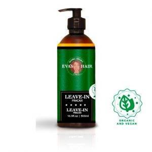 Leave in eva's hair